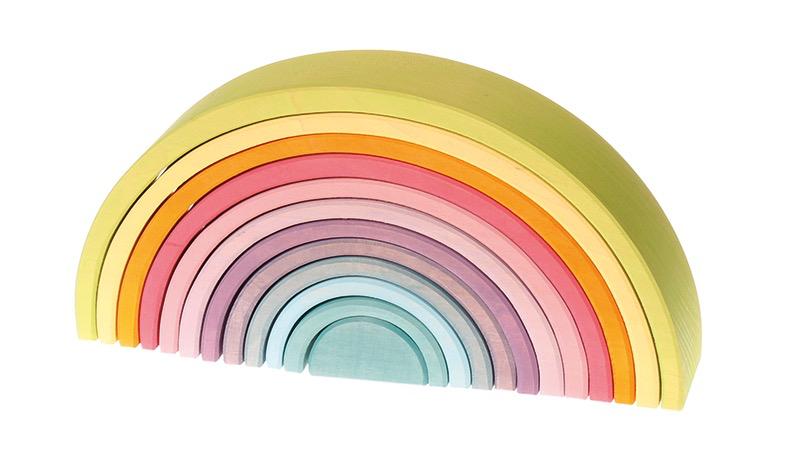 Grimm's Tunnel, pastels 12 pcs (large rainbow)