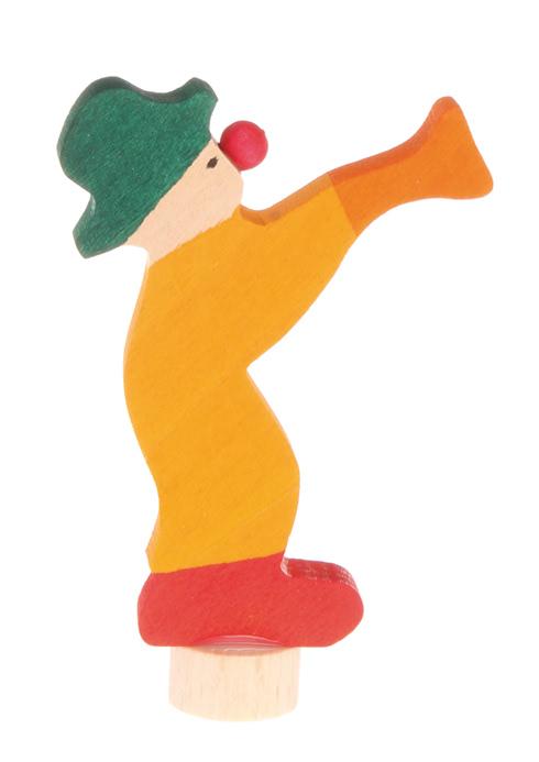 Grimm's Deco Clown, Yellow