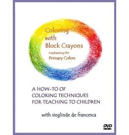 Teach Wonderment Coloring with Block Crayons DVD