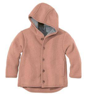 Disana Disana Baby/Child Hooded Jacket Boiled Wool