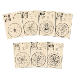 Wynstones Press Planetary Seals and Planetary Columns by Rudolf Steiner - A set of 7 postcards