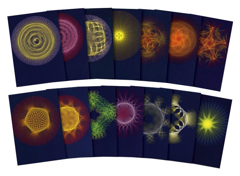 Wynstones Press Planetary Rhythms - A set of 14 postcards