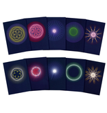 Wynstones Press Planetary Rhythms: Geocentric and Heliocentric - Set of 10 postcards