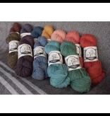 Custom Woolen Mills Prairie Wool Medium Soft Spun Yarn 100% Wool - Naturally Dyed Skeins