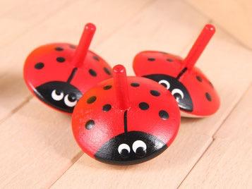 Beck Ladybug spinning top small