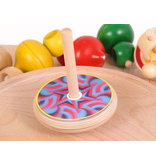 Beck Spinning Top with Pattern Changing discs