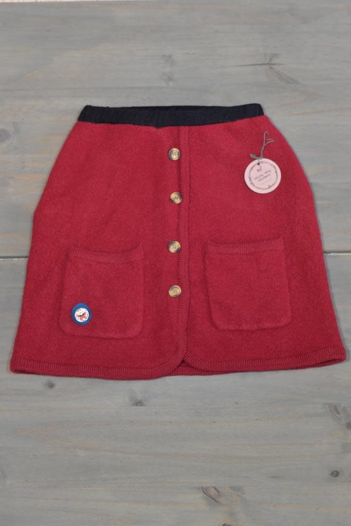Wooly Way Woolens Adult Skirt 2 - Upcycled Boiled Wool