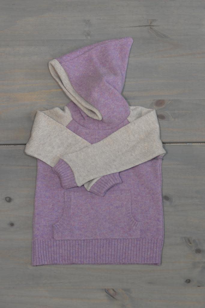 Wooly Way Woolens Child Hoodie - Upcycled Wool 4-5 years