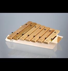 Mercurius Pentatonic Xylophon D-E-G-A-H-D-E wood with mallet