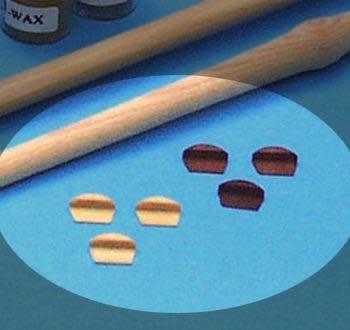 Mercurius Tone block for diatonic c-flute