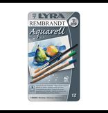 Aquarelle Lyra Rembrandt aquarelle pencil - 12 assorted