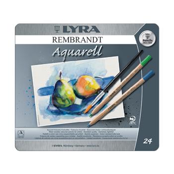 Aquarelle Lyra Rembrandt aquarelle pencil - 24 assorted