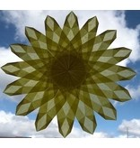 Mercurius Kite paper 16x16 cm basic 5 colours 100 sheets