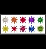 Mercurius Kite paper 16 x16 cm assorted 11 colour 100 sh
