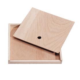 Mercurius Wooden pencil case empty small 12pcs