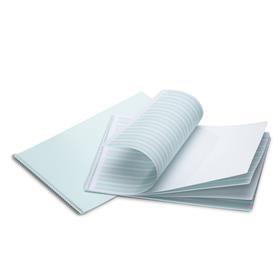 Mercurius Handwriting practice book 6-6-6-green/pink-spiral