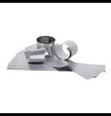 Mercurius Star strip Silver 220gr, 65x10cm single