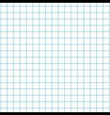 Mercurius Exercise book graph 16x21cm, 5x5mm graph (blue only)