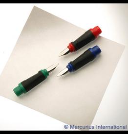 Greenfield Greenfield 3x calligraphy nib: small/medium/wide