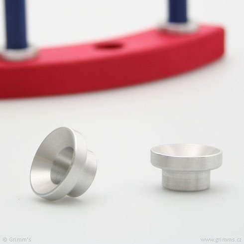 Grimm's Aluminum Candle Holder for birthday ring