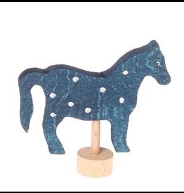 Grimm's Deco Horse Blue