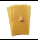 Dipam Beeswax sheets candlemaking - set 3 pcs