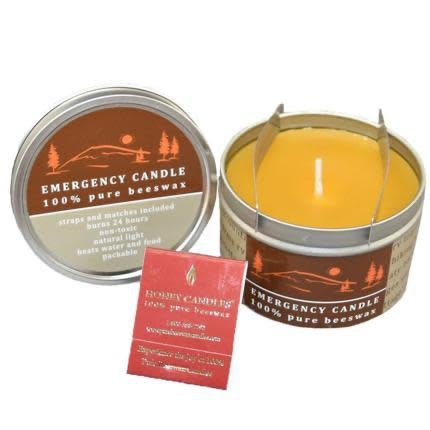 Honey Candles Emergency Candle