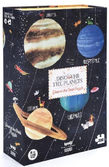 Londj Puzzle - Discover the Planets