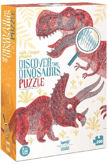 Londj Puzzle - Discover the Dinosaurs