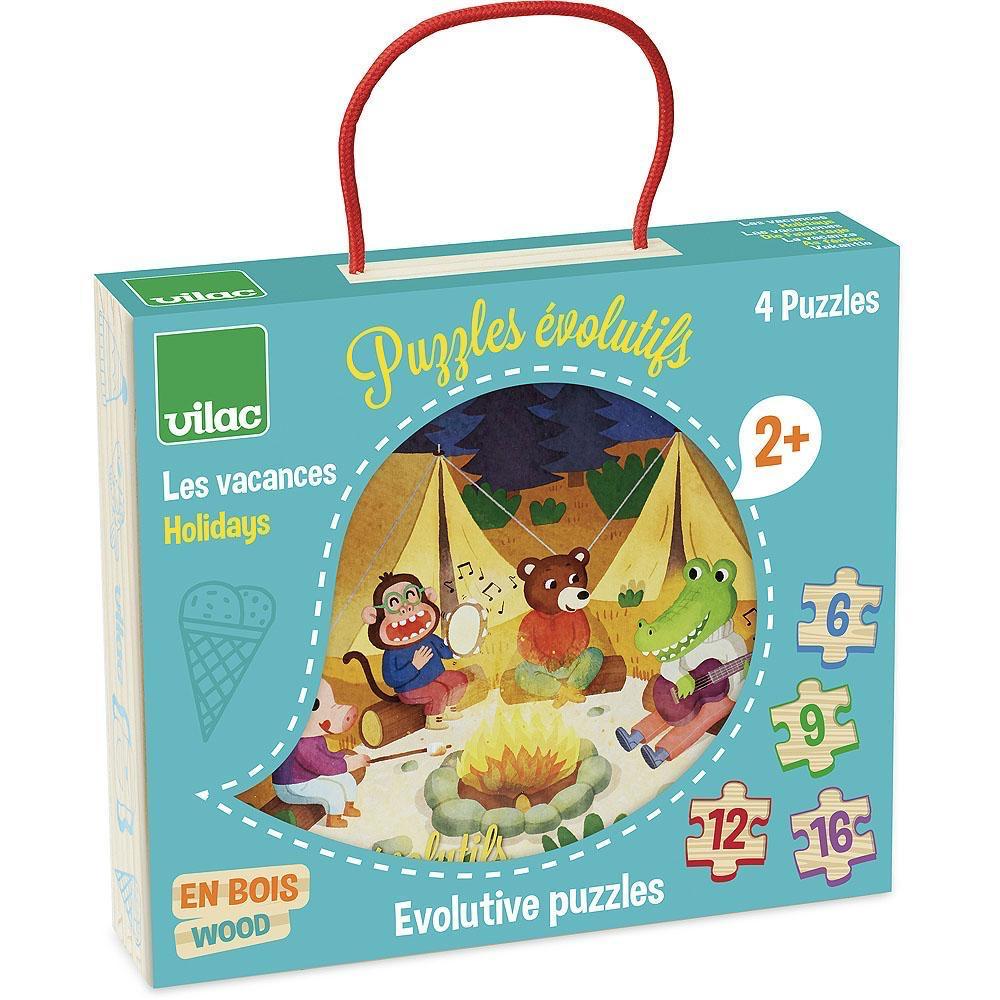 Vilac Puzzle - 4 Seasons Vacation