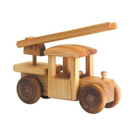 Debresk Debresk wooden toy - big fire engine
