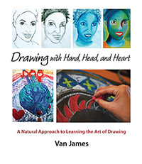 Steiner Books Drawing With Hand Head And Heart:  A Natural Approach to Learning the Art of Drawing