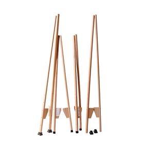 "Mercurius Stilts large - adjustable 148 cm (58.25"") beech wood"