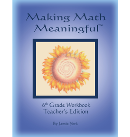 Jamie York Press Making Math Meaningful: A 6th Grade Workbook Teacher's Edition