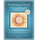 Jamie York Press Making Math Meaningful: A Source Book for Teaching Math in Grades One through Five - 2nd edition