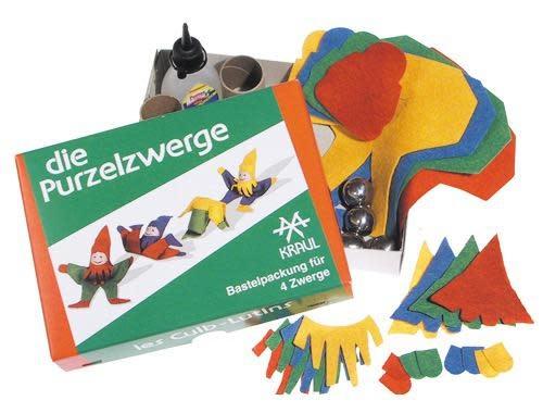 Kraul Tumbling Gnome Kit for 4 gnomes