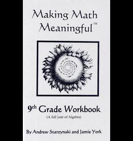 Jamie York Press Making Math Meaningful: A 9th Grade Student's Workbook