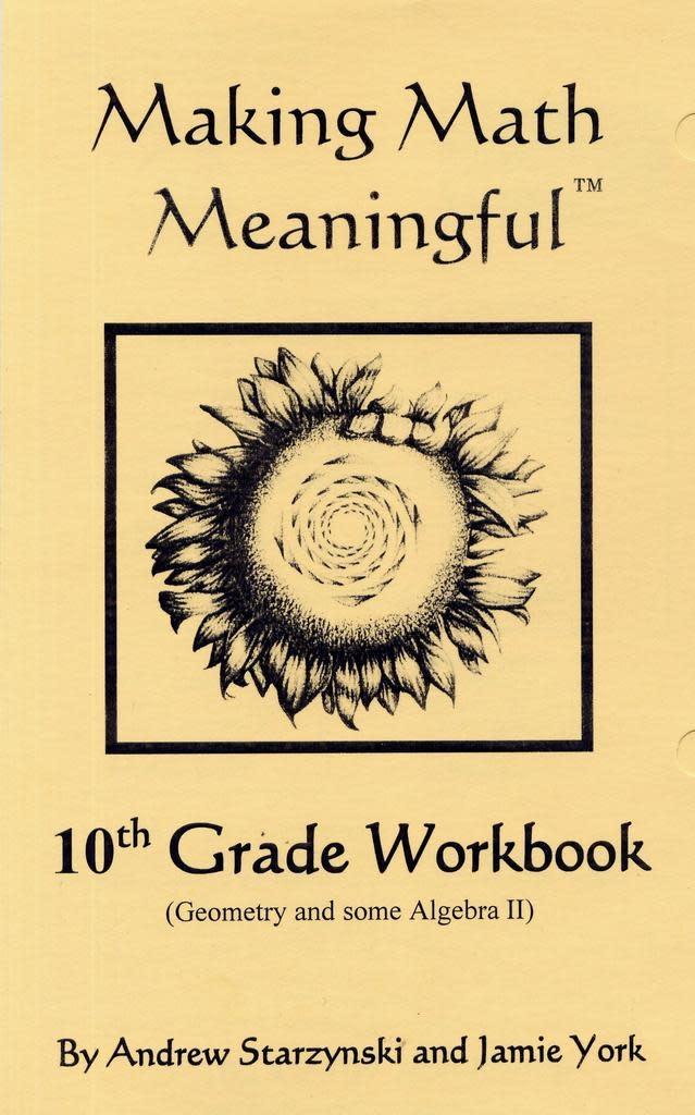 Jamie York Press Making Math Meaningful: A 10th Grade Student's Workbook