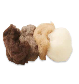 Filges Filges Fairy Tale Wool, Bioland 4 assorted earth tones