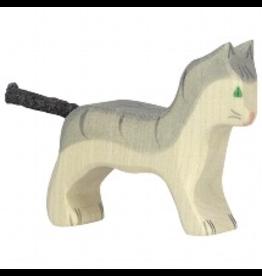 Holztiger Cat, small, grey