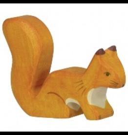 Holztiger Squirrel, standing, orange