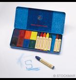 Stockmar Stockmar combination ass.set 8 blocks / 8 sticks