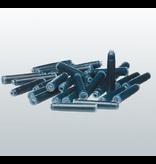 Mercurius 12 Black Ink cartridges for Greenfield Pens