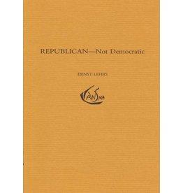 Waldorf Publications Republican: Not Democratic