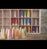 Grapat Wood Coloured Stick Gnomes 18 pcs
