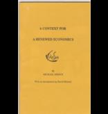 Waldorf Publications A Context for a Renewed Economics