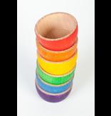 Grapat Wood Coloured Bowls 6 pcs (6 colours)