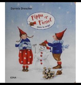 IONA Pippa et Pierrot dans la Neige