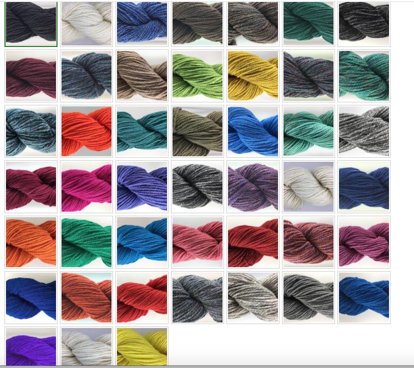 Briggs & Little Briggs & Little Atlantic 3 ply yarn