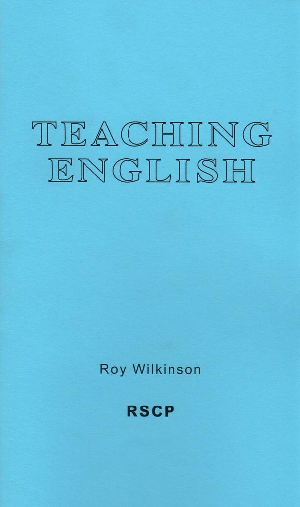 Rudolf Steiner College Press Teaching English